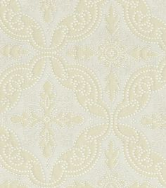 Upholstery Fabric-Williamsburg Pintado Oyster
