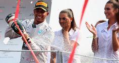 2014 Italian GP: Lewis Hamilton wins from Nico Rosberg to cut title deficit