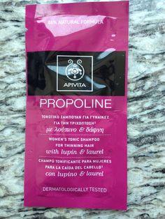 "Sample ""Sunday""- Apivita Women's Tonic Shampoo for Thinning Hair @ BlushingBiddies"