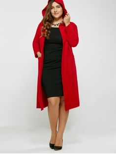 GET $50 NOW   Join RoseGal: Get YOUR $50 NOW!http://www.rosegal.com/plus-size-outerwear/autumn-big-pockets-long-hooded-800808.html?seid=2275071rg800808
