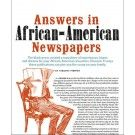 African-American Genealogy Guide: Using Black Newspapers