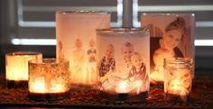 Wooow! Quelle belle idée! Fabriquer des cadres lumineux à partir de photos des membres adorés de votre famille! Ils vous faudra peu de matériel pour avoir des cadres personnalisés! Une super belle idée cadeau pour tous! Grand-maman, grand-papa, maman