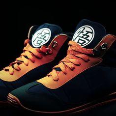 Une collection de sneakers Dragon Ball Z