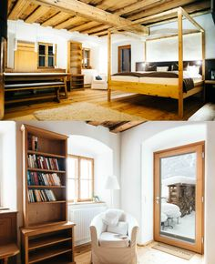 In the centre of the UNESCO World Heritage site Hallstatt lies the Hallstatt Hideaway with breathtaking views of Lake Hallstatt Hallstatt, The Good Place, Modern Design, In This Moment, Traditional, Luxury, Bed, Furniture, Home Decor