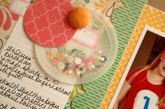 Cute confetti detail from Davinie.