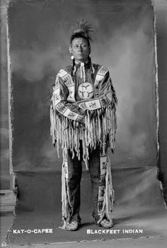 Kat-O-Capee - Blackfoot - circa 1900