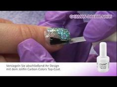 Jolifin Fimo Flower Power Naildesign by German Dream Nails - Nr. 167 - YouTube