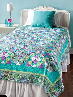 Fool's Gold Mystery Quilt