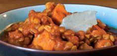 Sweet Potato Lentil Chili, alive.com