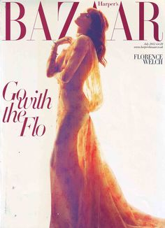 Florence Welch wears JADA on the cover of Harper's Bazaar