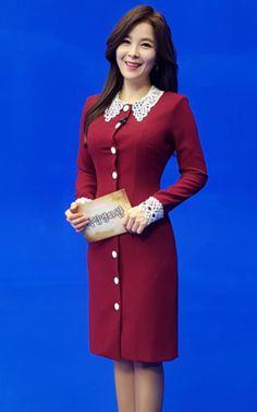 Button Dress, Overalls, Buttons, Women's Fashion, Dresses, Style, Dirndl, Curve Dresses, Vestidos