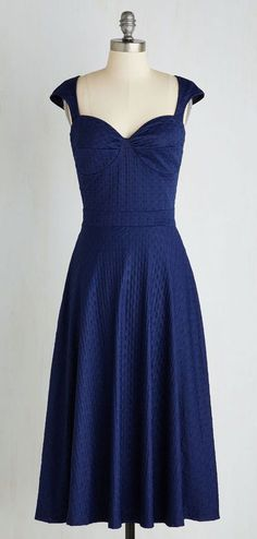 Prove your Groove Dress in Navy