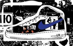 urban street brand, Nike shoe