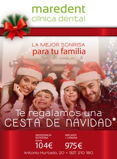 Maredent te regala una cesta de Navidad. Para esta nueva campaña navideña han confiado una vez más en Creaerte.