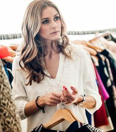 "Exclusive: Piperlime Guest Editor Olivia Palermo Shares Her Spring Must-Haves What Wear - What is your best beauty secret? ​""Drink a ton of water and get your beauty rest. Estilo Olivia Palermo, Olivia Palermo Lookbook, Johannes Huebl, Penelope, Facon, Looks Style, Look Chic, Who What Wear, Girl Crushes"
