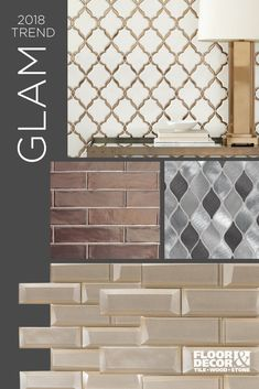 Sparkle and shine with metallic tile. From stainless steel to gold and silver, explore these decorative tiles from Floor & Decor...