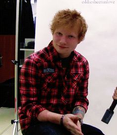 He's British. | 8 Reasons Why You Should Be Listening To Ed Sheeran