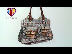 Bolsa sacola Kristin - Cursos aulas e vendas de bolsas de tecido é no Maria Adna Ateliê - YouTube