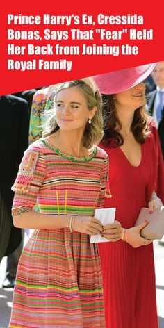 """Prince Harry's Ex, Cressida Bonas, Says That """"Fear"""" Held Her Back from Joining the Royal Family Prince Harry Ex Girlfriend, Cressida Bonas, Kate Middleton News, Meghan Markle News, Royal Family News, Harry And Meghan, Ex Girlfriends, Queen Elizabeth Ii, Actresses"""