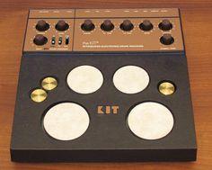MATRIXSYNTH: THE KIT Vintage 1982 Analog Synthesizer/Drum Machine by M.P.C./MXR w/ orig box SN 002388