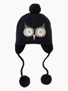night owl hat, kate spade. Sweet hat!