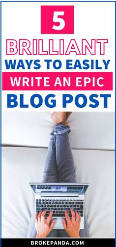 Want to write an EPIC blog post that will have readers keep coming back for more? Then these blogging and writing tips are all you need! They're seriously good stuff.