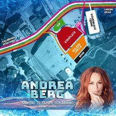 Nur noch 4 Tage bis zum Bergfest mit Andrea Berg in #Schladming #andrea berg Salzburg, Andrea Berg, Planer, Movie Posters, Movies, Fun, Travel, Graz, Films
