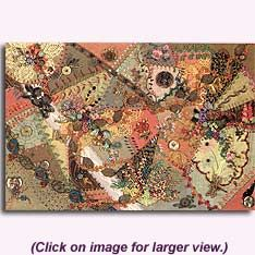 crazy quilting by judith baker montano