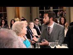 Zachary Levi proposing to Betty White. FANTASTIC.