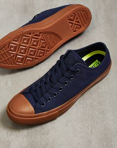 16fbe9a826a5 Converse Chuck Taylor All Star II OX Blue Converse Chuck Taylor All Star