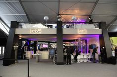 The Samsung Galaxy Lounge: A new spot in the tents to recharge (in more ways than one!)
