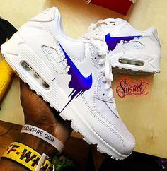 Top 10 Nike Air Max 90 Customs | Kickzy | Page 10 Air Max 90, Nike Air Max, Air Max Sneakers, Sneakers Nike, Custom Shoes, Nike Shoes, Kicks, Tops, Diy