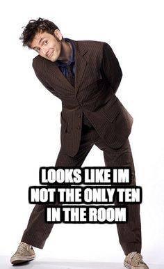 Doctor Who pick up line.