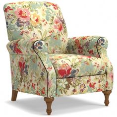 Require More Information On Furniture? Read This Article Reupholster Furniture, Cheap Decor, Furniture, Chair, Furnishings, Luxury Homes Interior, Western Home Decor, Floral Chair Living Room, Floral Chair