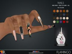The Sims 4 Pc, Packs The Sims 4, The Sims 4 Skin, Sims 4 Mm, Sims 4 Cas Mods, Sims 4 Body Mods, Sims 4 Nails, Cc Nails, Tumblr Sims 4