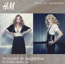 #Madonna #H&M #Limited #Edition #2008 #mafash14 #bocconi #sdabocconi #mooc #w4