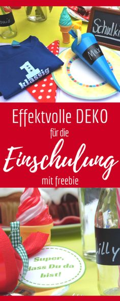 Deko für die Einschulungsfeier Decoration for school enrollment - for the inclusion ceremony! Very easy & fast to craft with artwork and order! Back To School Activities, Kindergarten Activities, Beginning Of School, First Day Of School, Kindergarten Architecture, School Enrollment, Us Universities, Diy Crafts To Do, Science Student