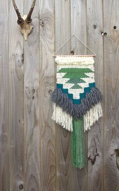 MADE TO ORDER // Woven wall hanging // handwoven by BohoBentley
