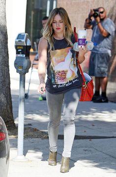 Los looks de las celebs de menos de 1,60 - Hilary Duff