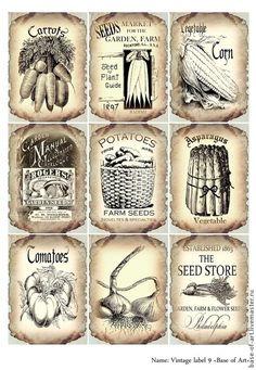 Papel Vintage, Art Vintage, Decoupage Vintage, Vintage Paper, Vintage Prints, Printable Labels, Printable Paper, Etiquette Vintage, Foto Transfer