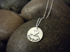 love stamped jewelry :)