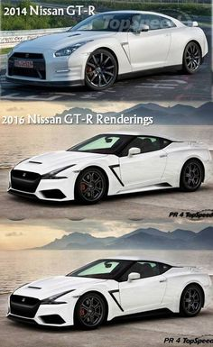 Nissan GT-R concept renderings. I hope this is how the next skyline will look.