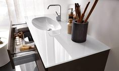 Cerasa by Lime Black Joy Bathroom Modern Collection