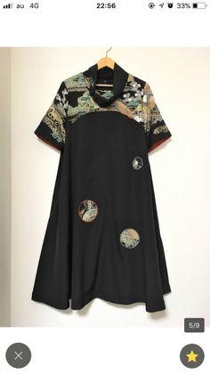 Kimono Fabric, Kimono Dress, Dress Skirt, Fashion Sewing, Kimono Fashion, Hot Weather Outfits, Cute Kimonos, Modern Kimono, Clothing And Textile