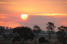 Sunset 13th April 2015