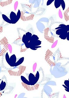 beautiful flower pattern
