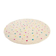 Sprinkles felt ball rug