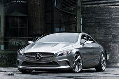 Mercedes CLA, the baby CLS will be on the market in 2013