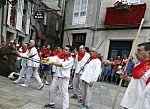 «Festa do Boi» de Allariz, los particulares sanfermines gallegos, en la provincia de Orense, de 700 años de antigüedad.
