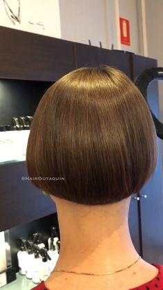 Bob Frisuren Bob Haircut ❤️, When It Comes To High-Quality Medical Short Wedge Haircut, Short Wedge Hairstyles, Bob Hairstyles 2018, Medium Bob Hairstyles, Short Bob Haircuts, Cool Haircuts, One Length Bobs, One Length Hair, Shaved Bob